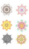 Ornamento arredondado Imagens de Stock