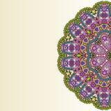 Ornamento arredondado Imagem de Stock Royalty Free