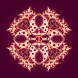 Ornamento arredondado Foto de Stock Royalty Free