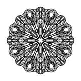 Ornamento astratto del cerchio Immagine Stock