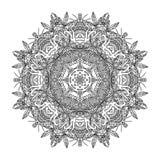 Ornamento astratto del cerchio Fotografia Stock Libera da Diritti