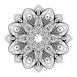 Ornamento astratto del cerchio Fotografie Stock Libere da Diritti