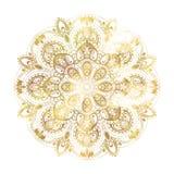 Ornamento astratto del cerchio Fotografia Stock