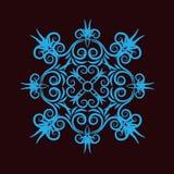 Ornamento azul Imagen de archivo