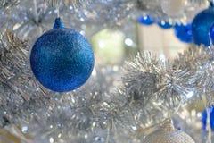 Ornamento azul y blanco Imágenes de archivo libres de regalías