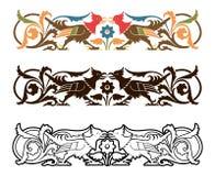 Ornamento bávaro velho Imagens de Stock Royalty Free