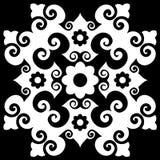 Ornamento barroco decorativo Foto de Stock Royalty Free