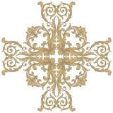 Ornamento barroco del vector en estilo victoriano Imagenes de archivo