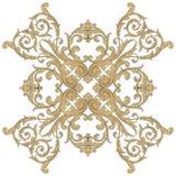 Ornamento barroco del vector en estilo victoriano Fotos de archivo