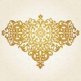 Ornamento barroco do vetor no estilo vitoriano. Imagens de Stock Royalty Free