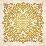 Ornamento barroco do vetor no estilo vitoriano. Imagem de Stock Royalty Free