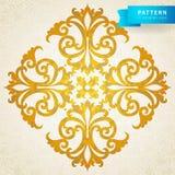 Ornamento barroco do vetor no estilo vitoriano. Foto de Stock Royalty Free