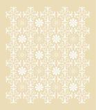 Ornamento bianco Immagini Stock