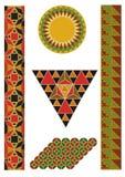 Ornamento bizantinos Fotos de Stock