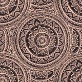 Ornamento bonito de paisley do indiano Imagem de Stock Royalty Free