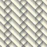 Ornamento britânico da manta Linha diagonal abstrata Art Pattern Fotografia de Stock Royalty Free
