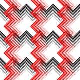 Ornamento britânico da manta Linha fina diagonal abstrata Art Pattern Fotografia de Stock