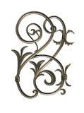 Ornamento Bronze royalty illustrazione gratis