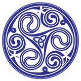 Ornamento céltico stock de ilustración