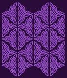 Ornamento céltico de flores Foto de archivo libre de regalías