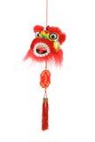 Ornamento capo del leone cinese di nuovo anno Immagine Stock