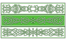 Ornamento celtas Fotos de Stock Royalty Free
