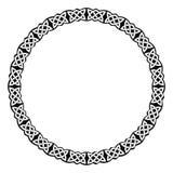 Ornamento celtico circolare illustrazione di stock