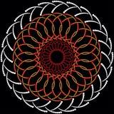 Ornamento celtico dai cerchi Fotografia Stock Libera da Diritti