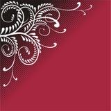 Ornamento chamativo do vinho vermelho Fotos de Stock Royalty Free