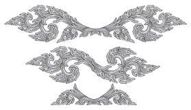 Ornamento chinês Imagem de Stock
