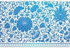 Ornamento chinês ilustração royalty free