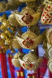 Ornamento chineses do ano novo Fotos de Stock