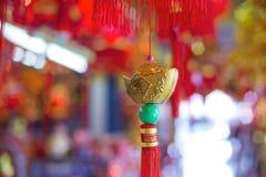 Ornamento chineses do ano novo Foto de Stock