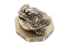 Ornamento chino de la rana del dinero imagen de archivo libre de regalías