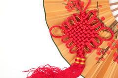 Ornamento chino del Año Nuevo Imagen de archivo libre de regalías