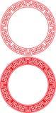 Ornamento chino del círculo
