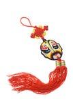 Ornamento chinês da máscara da ópera Imagens de Stock