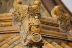 Ornamento a Cidade Proibida do telhado Fotografia de Stock