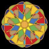 Ornamento circolare. royalty illustrazione gratis