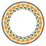 Ornamento circolare egiziano illustrazione vettoriale