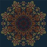 Ornamento circular Foto de archivo libre de regalías