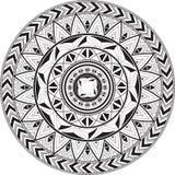 Ornamento circular Mandala geométrica Fotos de archivo