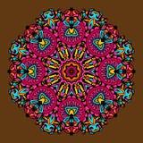Ornamento circular Vector Imagen de archivo