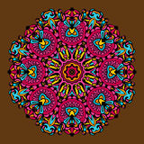 Ornamento circular Vetor Imagem de Stock