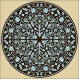 Ornamento clásico del círculo de Rímini Imagen de archivo libre de regalías
