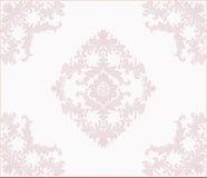 Ornamento clássico do damasco do laço Ilustração Royalty Free
