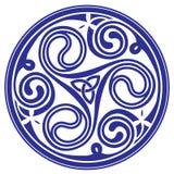 Ornamento céltico Imagen de archivo libre de regalías