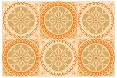 Ornamento coloreado Imagen de archivo