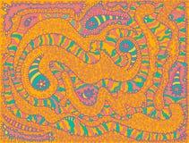 Ornamento colorido Imagem de Stock Royalty Free