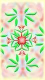 Ornamento colorido Foto de Stock